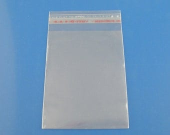 "200 Resealable Self-Sealing Bags, usable space 8x6cm, (3-1/8 x 2-1/3"") bulk package cello bags, ..."