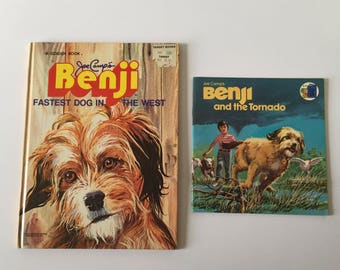 Vintage 1970's Benji Childrens Books