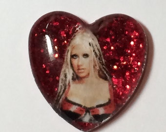 Christina Aguilera from her Drrrty Days Necklace