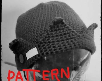 Knitting Pattern Jughead Hat : Etsy :: Your place to buy and sell all things handmade