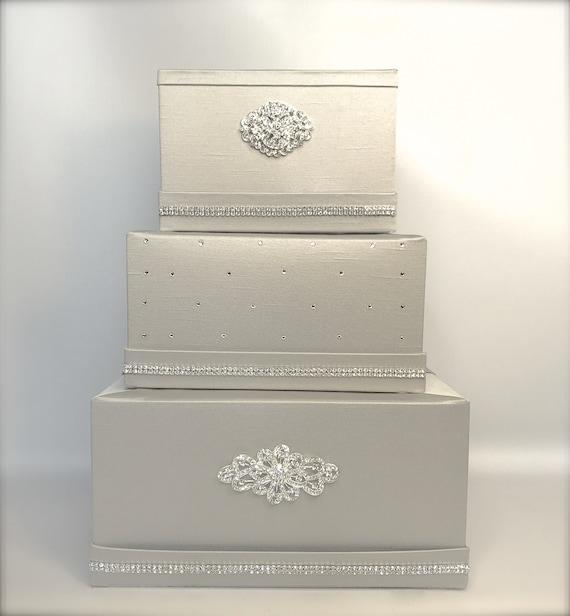 Wedding Gift Card Holder With Lock : ... Classic Wedding Card Holder Wedding Card Box Gift Card Box Secure Lock