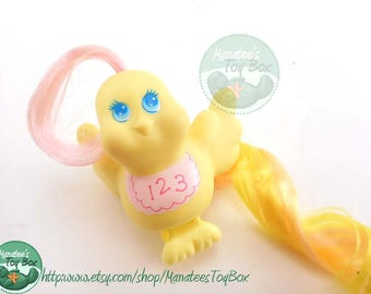 1980s Fairy Tails Bird Baby Tiddly Winks Tails by Hasbro