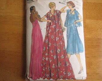 Vogue Pattern 9703 Misses' Dress, Jacket or Coat     1970's