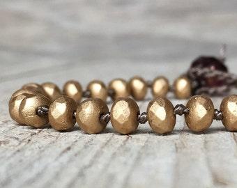 Boho Chic Bracelet - Friendship Bracelet - hippie boho - boho bracelet - hippie bracelet - beaded bracelet - gift for women