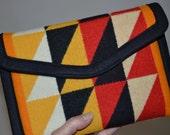 Tribal iPad mini Case cover sleeve handcrafted of Native American wool - ipad mini 1 2 3 4 accessories electronics cases geometric