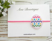 Easter Headband - Easter Egg Headband - Baby Easter Headband - Girls Easter Headband