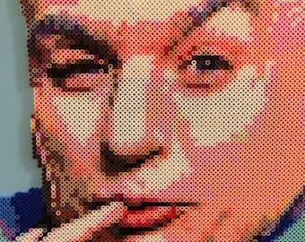 Dr. Evil | Austin Powers Fan Art | Mike Myers Bead Portrait