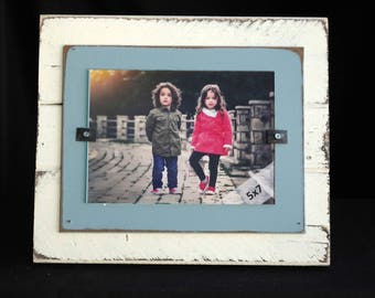 Barnwood Picture Frame Rustic Picture Frame Reclaimed Wood Picture Frame Handmade Picture Frame 5x7 Family Picture Frame