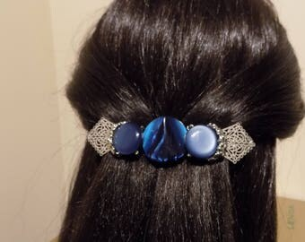 Large Barrette For Thick Hair/ Womens Gift/French Barrette