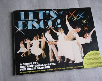 Vintage 1978 Let's Disco Instructional Book - paperback