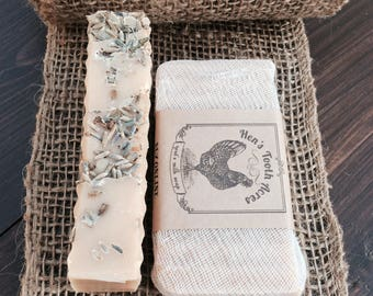 Lavender Goat's Milk Soap Superfatted with Avocado Oil