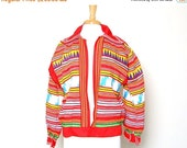 ON SALE Vintage 60s 70s Native American Seminole Hand Sewn Patchwork Jacket