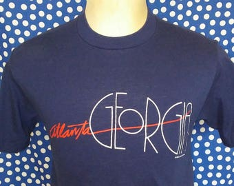 1980's Sneakers brand Atlanta t-shirt, fits like a small