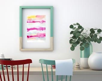 Abstract Watercolor Painting. Original Wall Art. Original painting. Abstract painting. Original abstract painting.