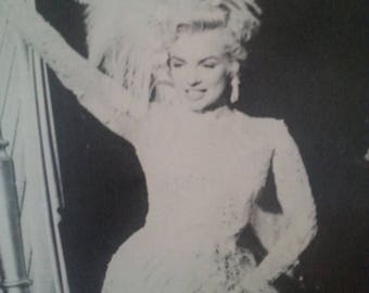 On Sale 1980's Marilyn Monroe Photograph Print, There's No Business Like Show Business, 20th Century Fox