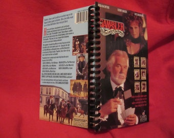 "Kenny Rogers ""The Gambler Returns"" VHS box notebook"