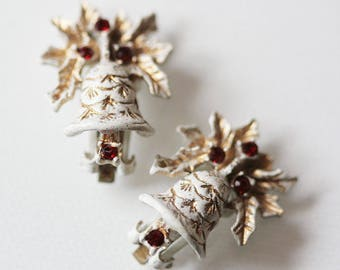 Vintage Jewelry DODDS Christmas Holiday Bells
