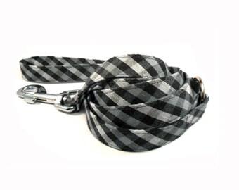 Check in Gray Dog Leash