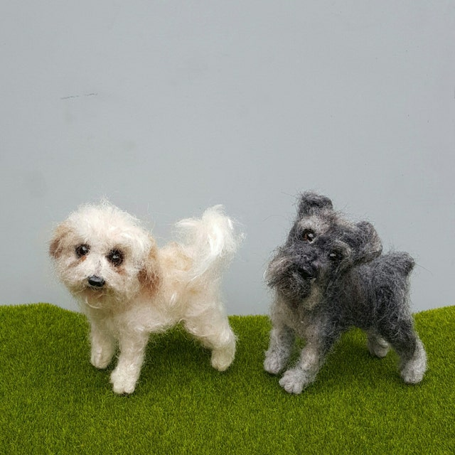 Realistic pet sculptures needle felted gifts von nodsu auf etsy
