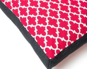 Large pink dog bed. Washable Dog Bed. Gifts for her. Modern dog bed cover. Waterproof Dog Bed. Modern large dog bed. Charlie Cushion