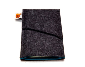 iphone 7 plus sleeve / iphone 7 sleeve / iphone 7 wallet case / handmade iphone 6S case / Weird Old Snail