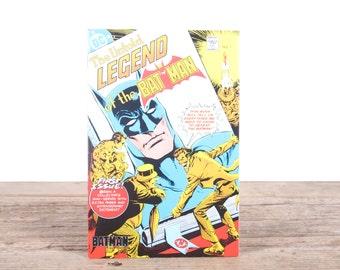 Batman Comic Book / 1980's The Untold Legend of the Bat Man Collectible No 1 / Old Comic Book / DC Comics Book / Super Hero Gift