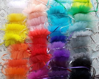 UPDATE!!! Rainbow of Tulle Collars for Blythe, Pullip, Dal, 34 colors available
