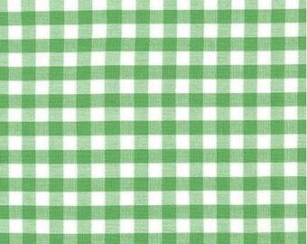 1/4 inch Kelly Green Gingham from Robert Kaufman's Carolina Gingham Collection