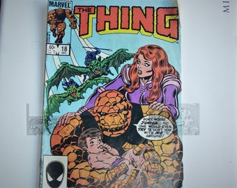2 marvel THE THING comic books oct  1983 and july 1985