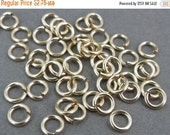 12% off Storewide SALE 5 Jump Rings Open 20 GA Gold Fill 5mm --- 5pcs jumprings