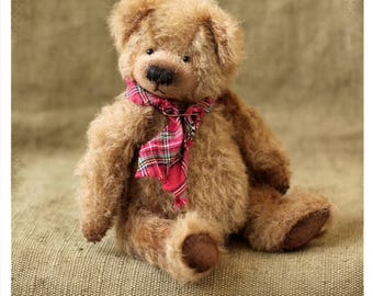 Artist Teddy Bears Dirly brown 16 cm OOAK
