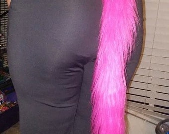 Furry Clip On Tails