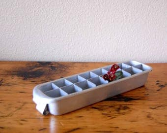 Vintage Aluminum Ice Cube Tray Vintage Small Ice Cube Tray from The Eclectic Interior