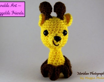Gerry Giraffe Inkie PDF Pattern