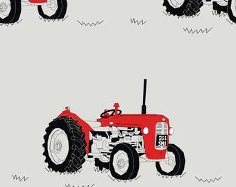 Tractor Nursing Pillow Cover - Tractor and Minky Boppy Cover -farm, country