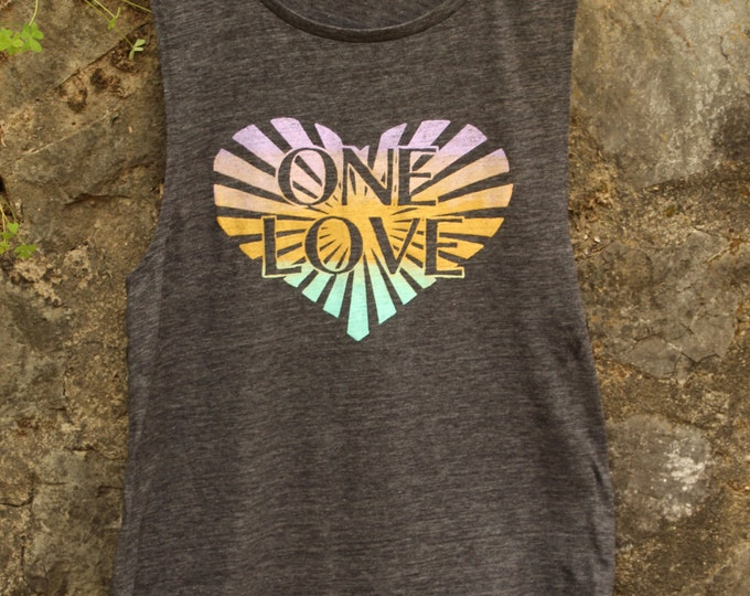 ONE LOVE Muscle Tee