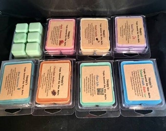 Free SH! 2 Clam Shell PINK SUGAR type* Noopy's Triple Scented Soy Wax Melts/Tarts