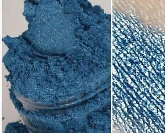 THIRST Blue Eye Shadow Shimmer Glitter Sky Blue Mineral EyeShadow 5g Sifter Jar purple eyeliner eye shadow mineral makeup THIRST smokey eyes
