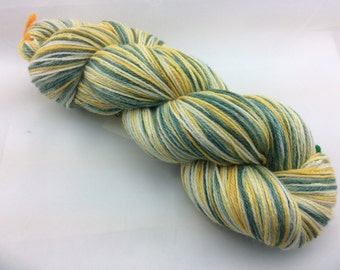 Boys of Fall - Hearthside Fibers BaaBoo - Superwash Merino/Bamboo/Nylon Hand Dyed Sock Yarn