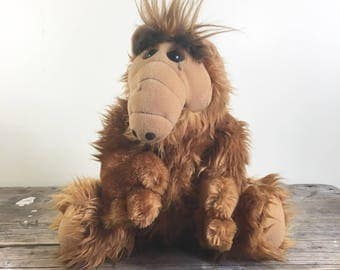 ALF plush stuffed animal, by Coleco, large 18 inches long