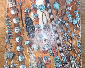 March 1975 Arizona Highways Magazine, TURQUOISE in Native Indian Jewelry Illustrated
