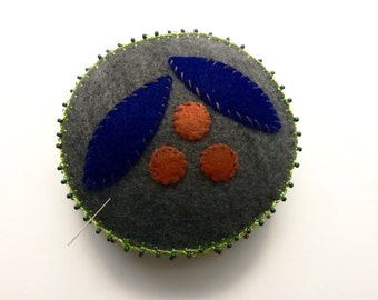 Hand Embroidered Pincushion