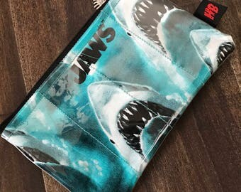 Handmade Jaws Change Purse