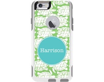 Turtlicious Personalized Custom Otterbox Commuter Case for iPhone 6 and iPhone 6s