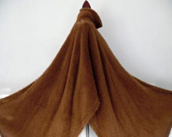 SALE:)) AGNONA . Alpaca Sensation . 6.5K! MuStc!! . Breath-Taking Fluffy Fuzzy Alpaca Cape Coat Made In Italy Couture Quality xL xXl 1x 2x P