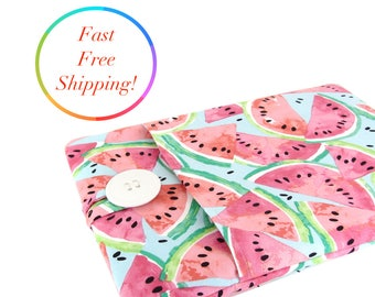 Watermelon Laptop Sleeve, Computer Case, Laptop Case, Macbook Pro Case, Macbook Air Case, 11 Inch Laptop Sleeve, 13 Inch Laptop