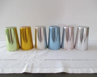 Bascal Anodized Aluminum Tumblers (Set of 6) - Aluminware Tumblers