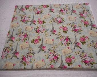 "Beautiful Valentine 100% cotton Fabric 36"" x  44"""