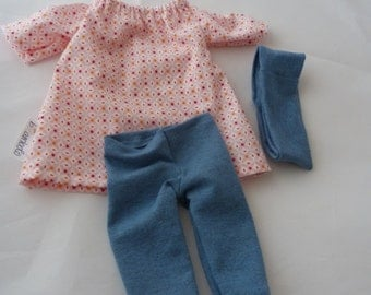 """Doll outfit, 12"""" - 14"""" ( 30 - 25 cm); Doll clothes"""