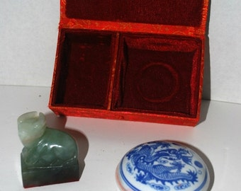 blizzard sale Vintage seal  Chinese wax seal set suzie daley wax seal